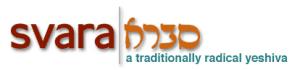 SVARA - ChiTribe Atlas of Jewish Chicago