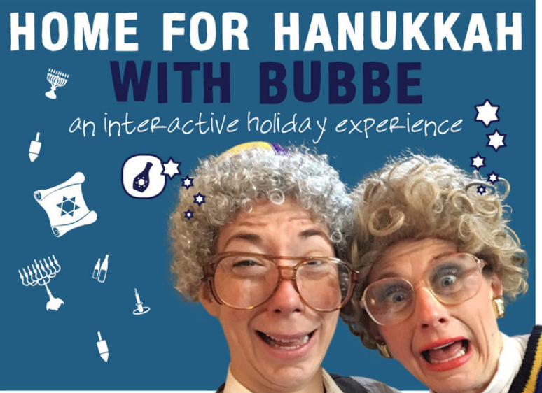 Meg Grunewald - Home for Hanukkah with Bubbe