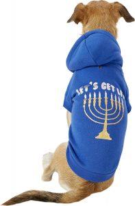 Hanukkah outfit dog chitribe