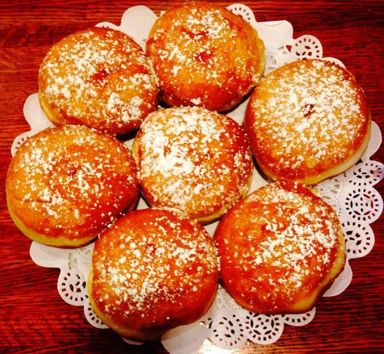 Mizrahi Grill Chanukah Jelly DOnut ChiTribe