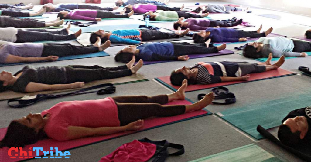 the space between yoga chitribe
