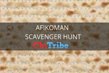 afikoman scavenger Hunt