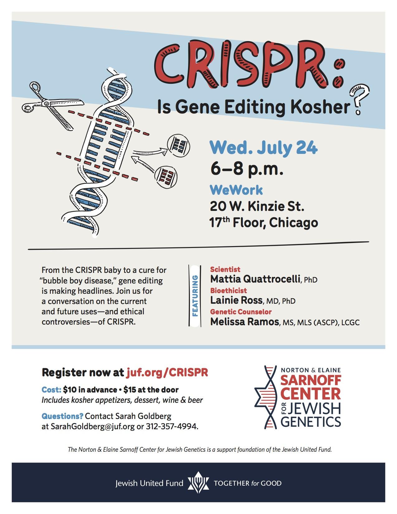 CRISPR flyer chitribe