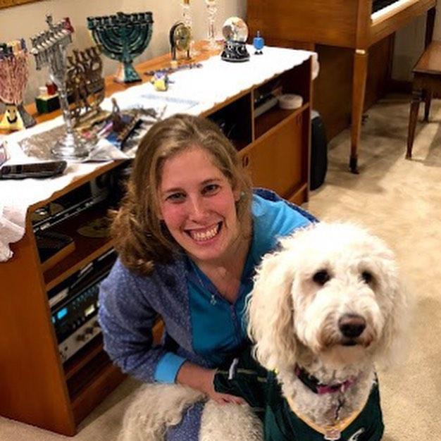 carly and laffa jewish puppy chitribe