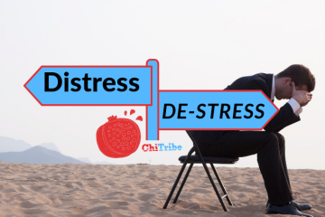 distress destress chitribe high holidays no shame on u
