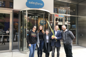 ChiTribe Salesforce Celebrates Sukkot