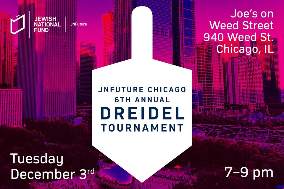 JNFuture Chicago 6th Annual Dreidel Tournament chitribe