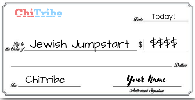 Jewish Jumpstart check chitribe