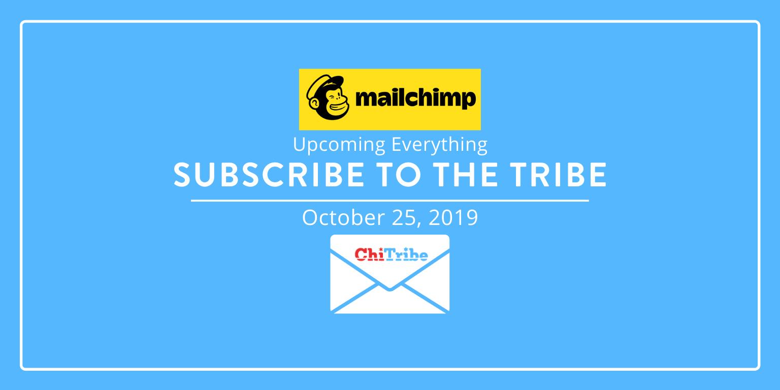 Mailchimp Blog October 25 ChITribe