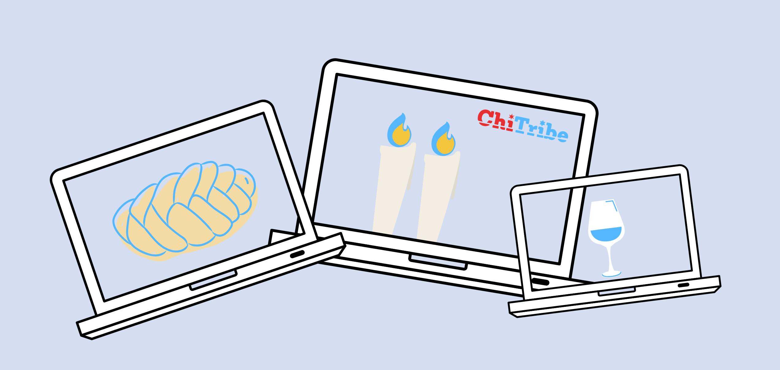 virtual shabbat clusters chitribe