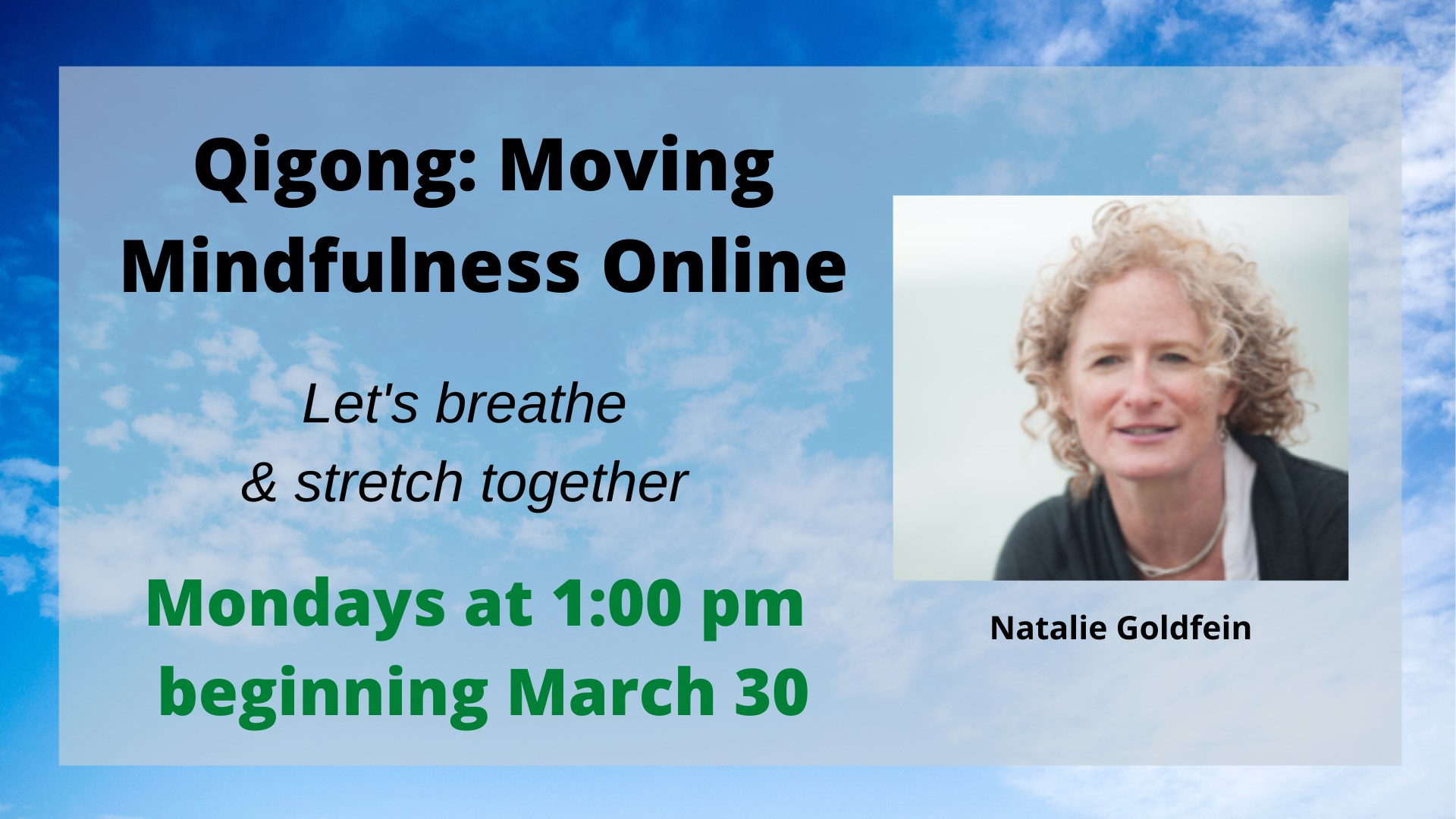 Qigong: Moving Mindfulness Online chitribe