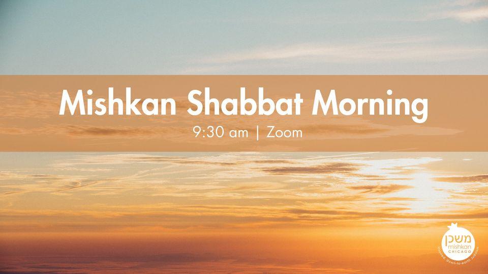 Mishkan Shabbat Morning ChiTribe