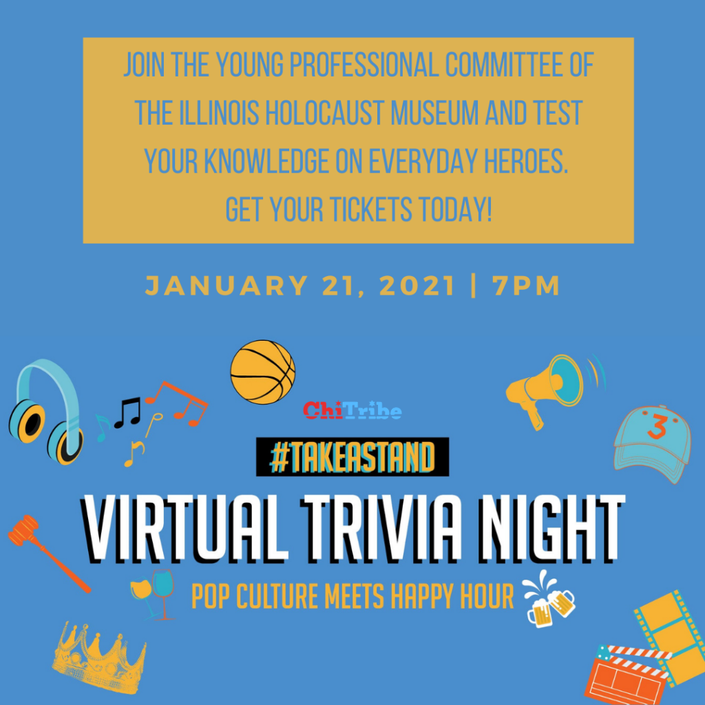 #TAKEASTAND Virtual Trivia Night YPC ANNUAL EVENT