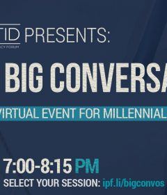 IPF Atid Presents: The Big Conversation(s) chitribe