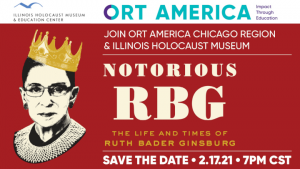 ORT Chicago Region: Notorious RBG