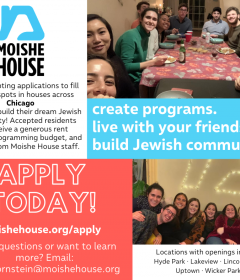 Moishe House chicago chitribe