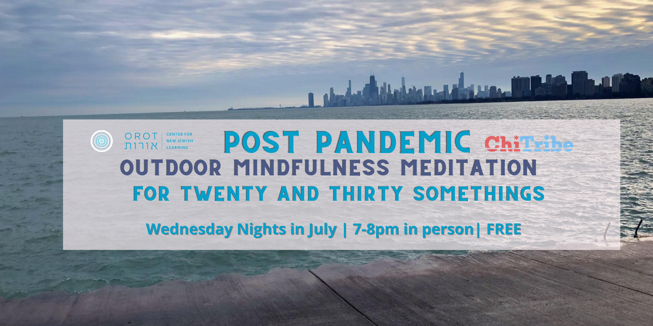 Post Pandemic Mindfulness Meditation Sits for Twenty and Thirty Somethings