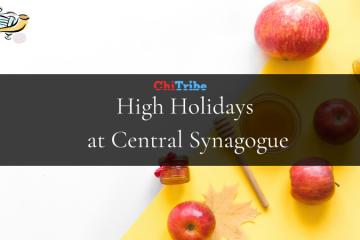 central synagogue chitribe high holidays